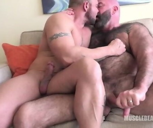 Bears Nuzzle and Cum