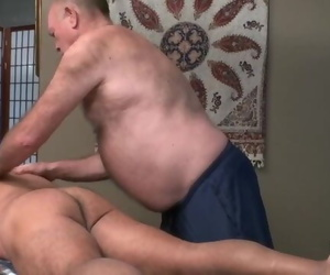 Massaging Daddy