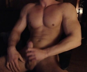 Hungarian Muscle Boy Cums..